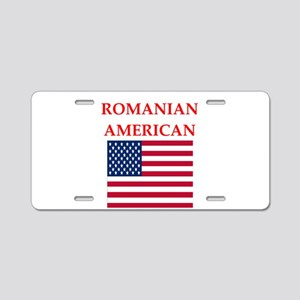 romanian Aluminum License Plate